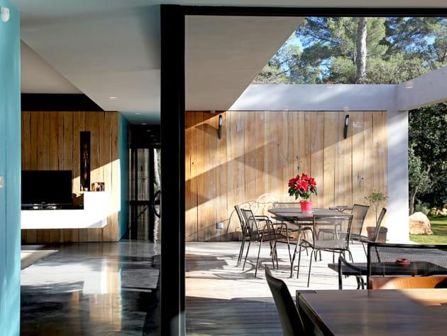 Salon intérieur et extérieur