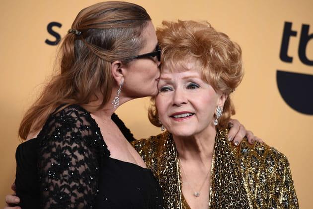Carrie Fisher et Debbie Reynolds, mère et fille fusionnelles