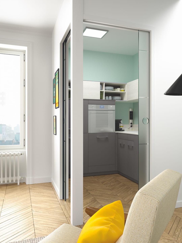 separer-cuisine-et-salon-avec-des-portes-a-galandage