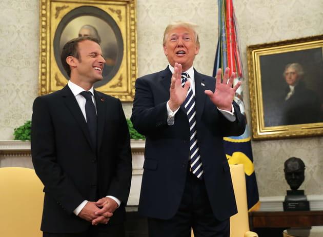 Donald Trump, bidonnant