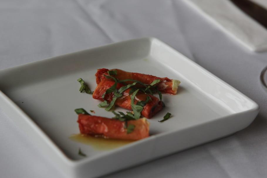 Maki de saumon et fromage de chèvre