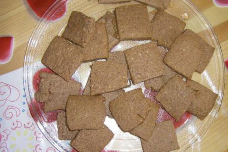 Petits pavés au chocolat