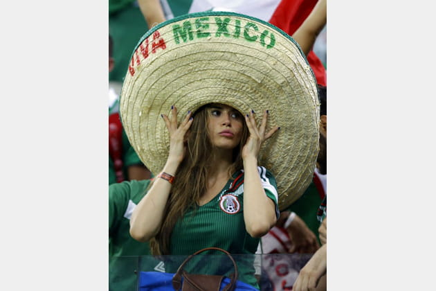 Supportrices sexy Coupe du monde 2014 Mexique