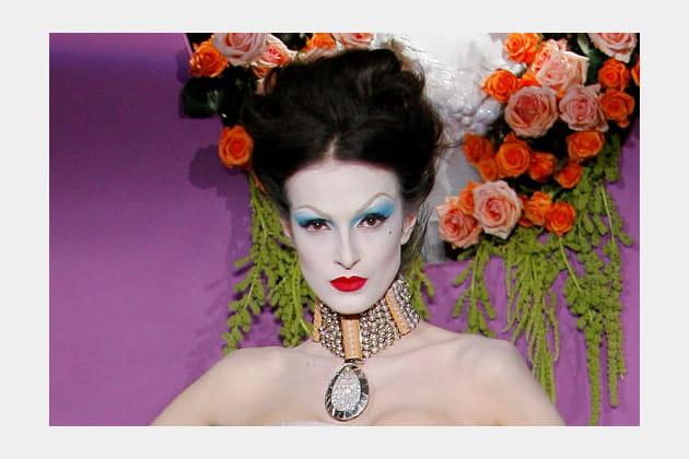 Les tendances maquillage du défilé Dior