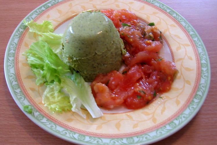 Mousse de brocoli et surimi