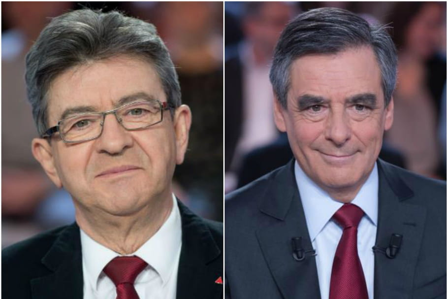 Jean-Luc Mélenchon et François Fillon s'affrontent sur l'IVG