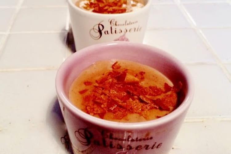 Crèmes au chocolat praliné façon La Laitière