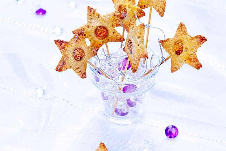Pie pops façon étoile aux épices