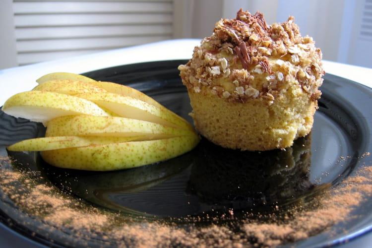 Muffins du verger croustillants à l'avoine