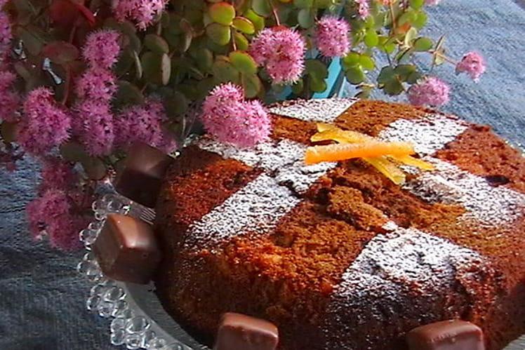 Marbré chocolat-cannelle