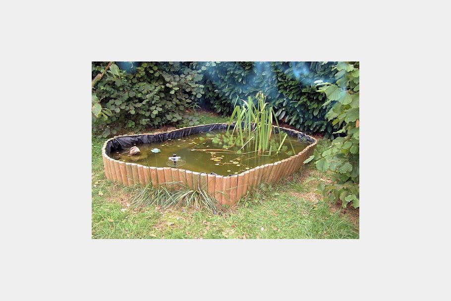 Bassin hors sol for Bassin jardin hors sol