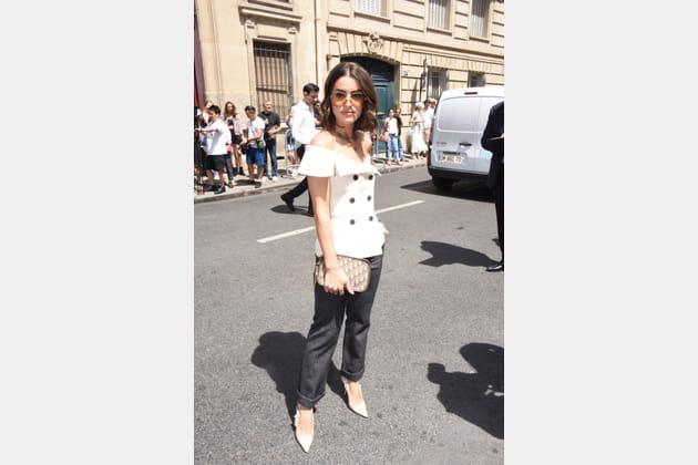 Camila Coelho chez Christian Dior