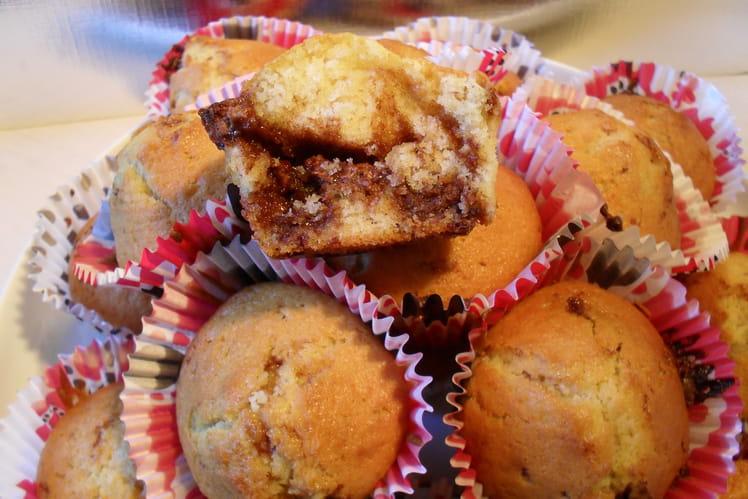Muffins aux éclats de Toblerone