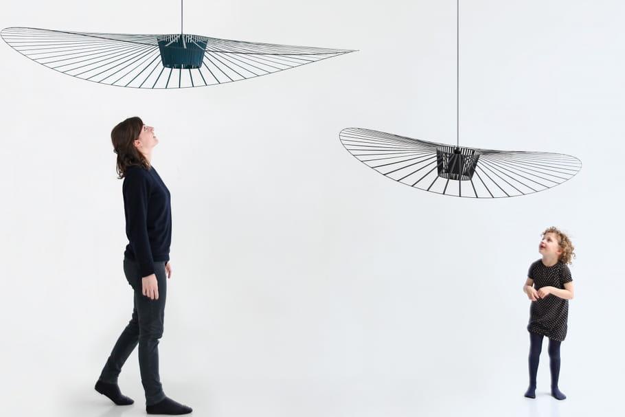 Suspension Vertigo: ce luminaire design signé Constance Guisset