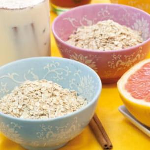 céréales dans un lait parfumé aux épices