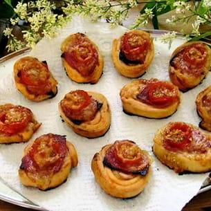 pizzas en rosette