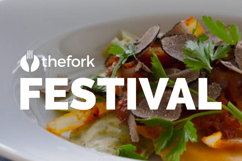Festival TheFork: jusqu'à 50% sur votre addition!