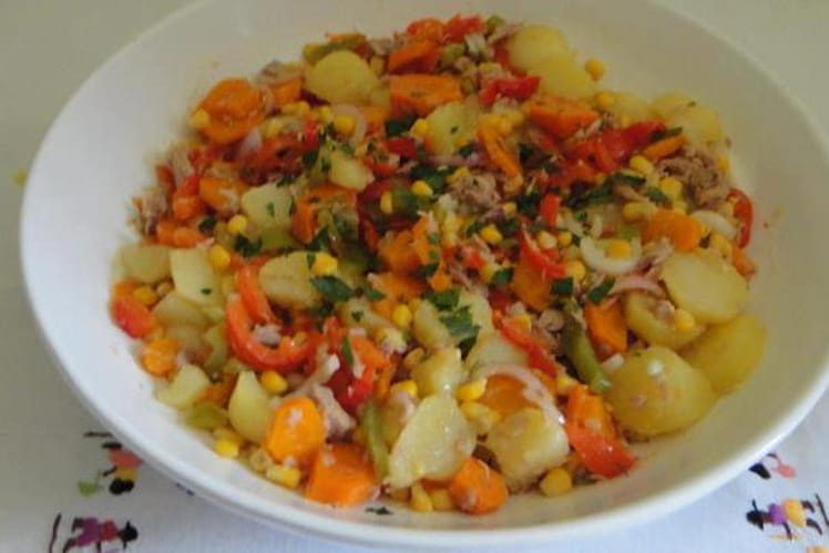 Salade de pommes de terre malgache