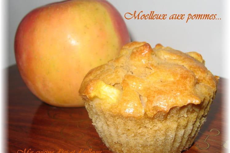 Moelleux aux pommes...