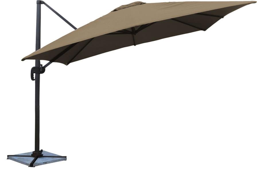 Meilleurs parasols déportés pour passer l\'été à l\'ombre