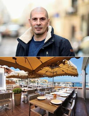 le rappeur apprécie notamment la vue du restaurant.