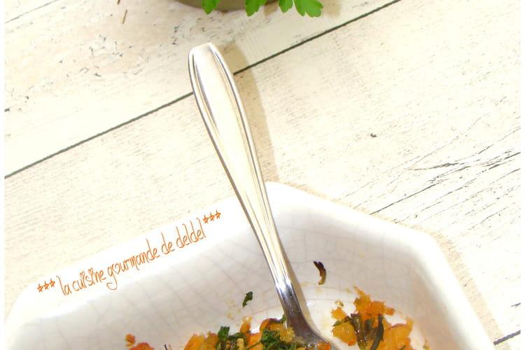 Crevettes marinées grillées à l'ail et persil