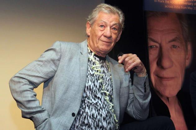 Ian McKellen: sa pancarte à la Women's March de Londres