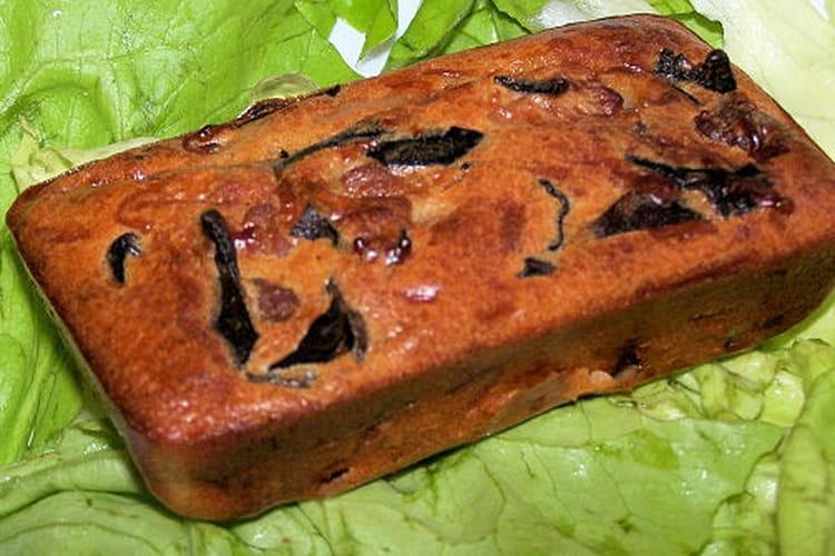 Cake au porc caramélisé
