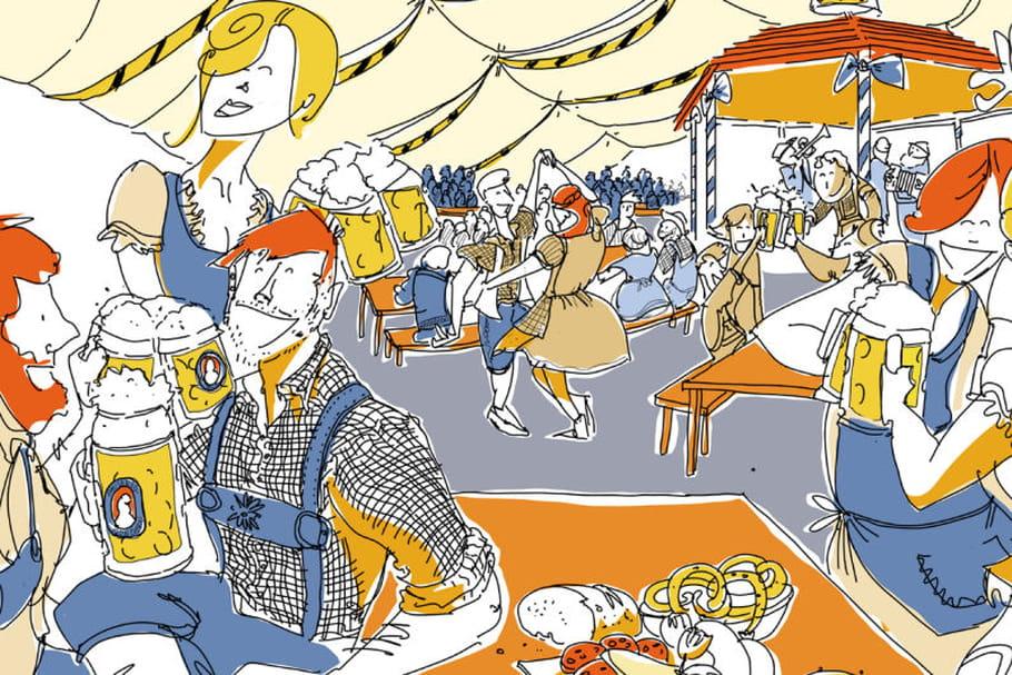 L'Oktoberfest va faire mousser Paris et Marseille