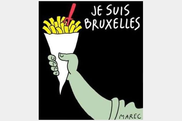 """""""Je suis Bruxelles"""" par Marec"""