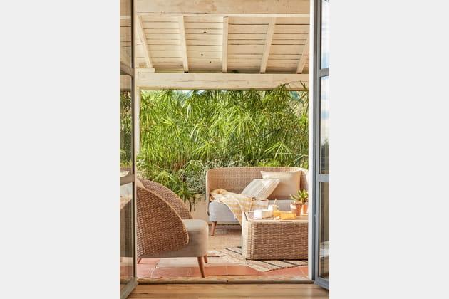 Salon de jardin Ango par Alinéa