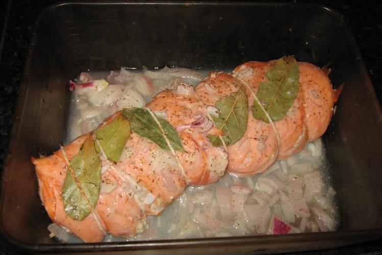 Rôti de poisson