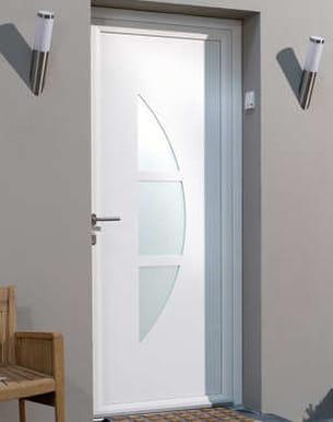 porte d'entrée géométric de leroy merlin