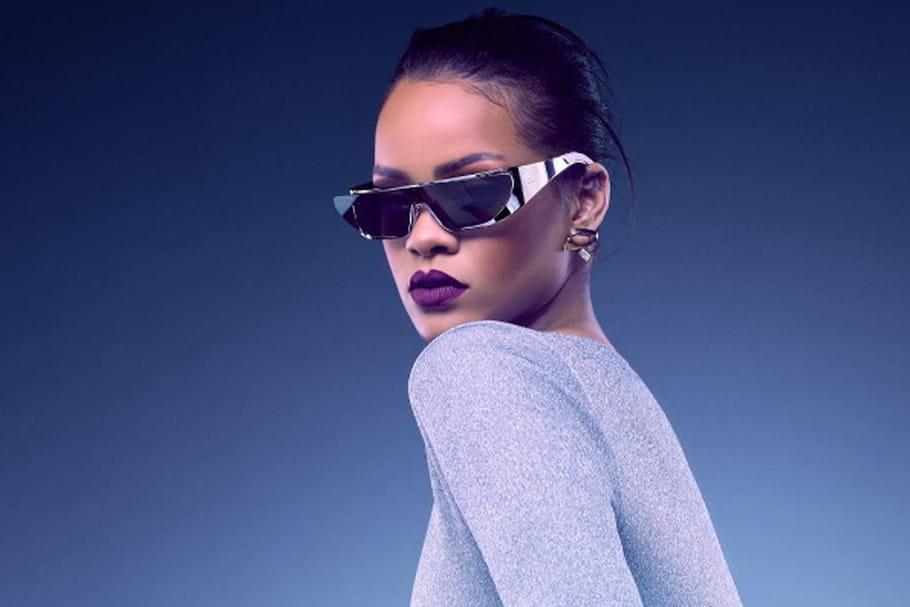 3b12d96730efce Rihanna et Dior font la paire, de solaire