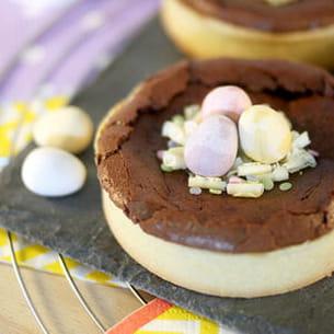 tartelettes au chocolat { pâques }