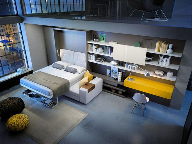 L\'armoire-lit Nuovaliola 10 de la Maison du Convertible