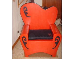 le fauteuil rouge de violette