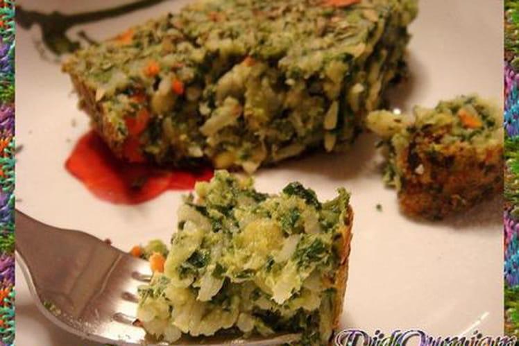 Galantine de légumes