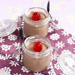 mini verrine au chocolat