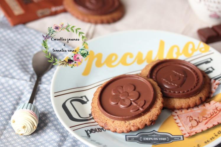 Biscuits au sucre Muscovado et au chocolat caramel