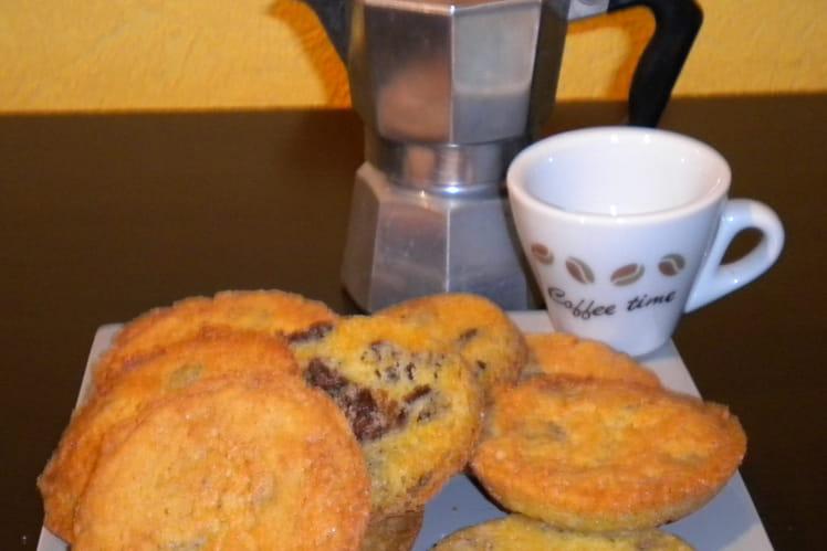 Cookies aux trois sucres et pépites de chocolat