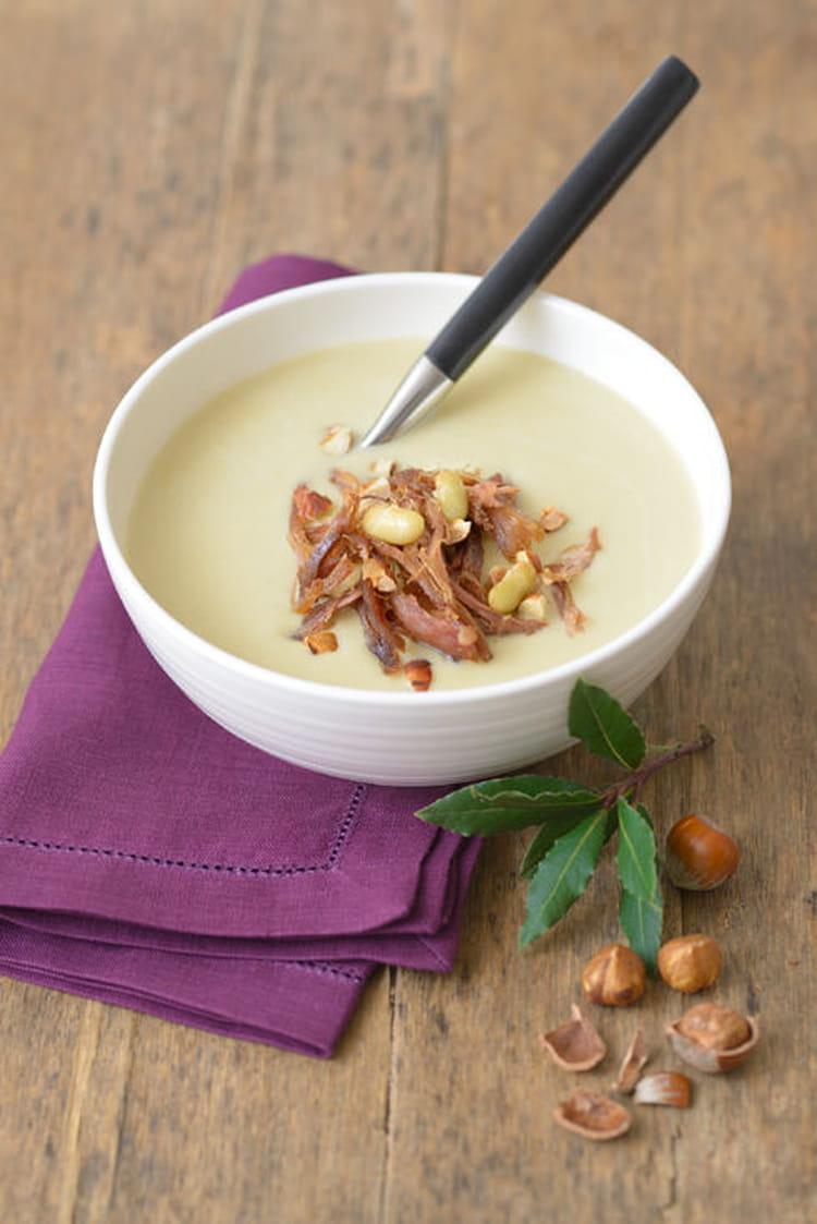Recette de velout de flageolets la recette facile - Comment cuisiner des flageolets en boite ...