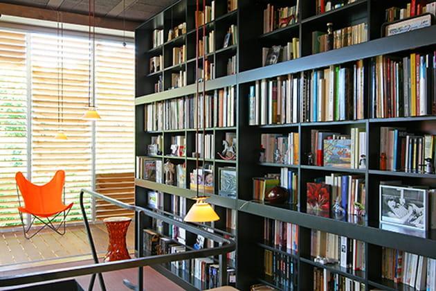 Pièce bibliothèque