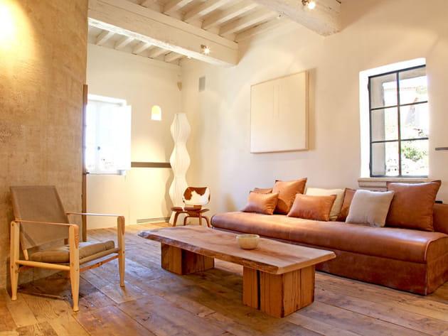 Matières naturelles et mobilier design
