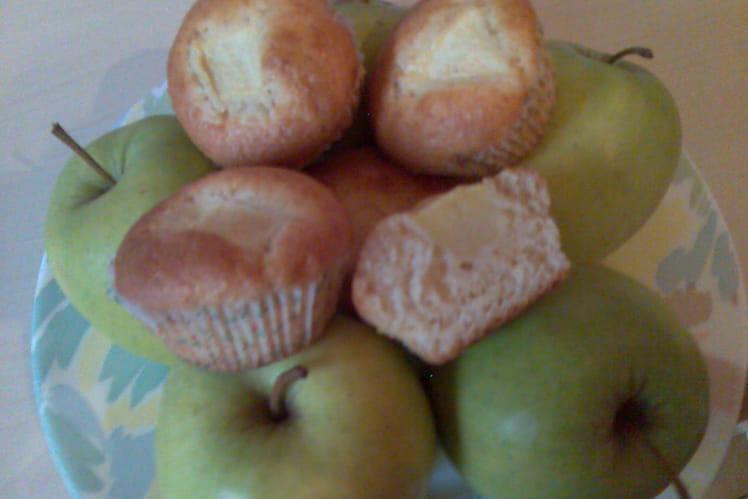 Muffins coeur de pommes