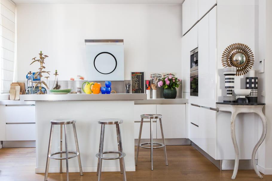 am nager une cuisine ouverte ce qu 39 il faut savoir avant de se lancer. Black Bedroom Furniture Sets. Home Design Ideas