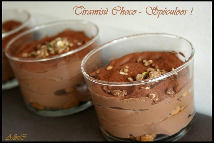 Verrine légère au chocolat façon tiramisu