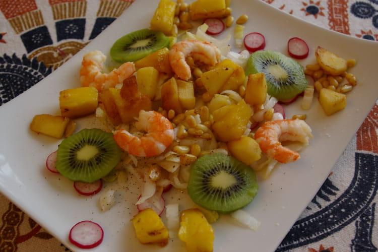 Méli-mélo d'endives aux fruits
