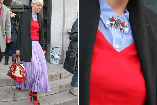 Fashion week : les street looks des défilés parisiens PAP automne-hiver 2011-2012 5