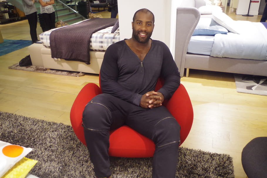 On a rencontré Teddy Riner, ambassadeur Habitat Bedding